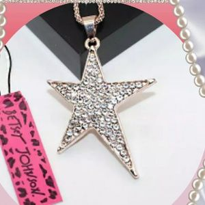 Betsey Johnson Star Necklace
